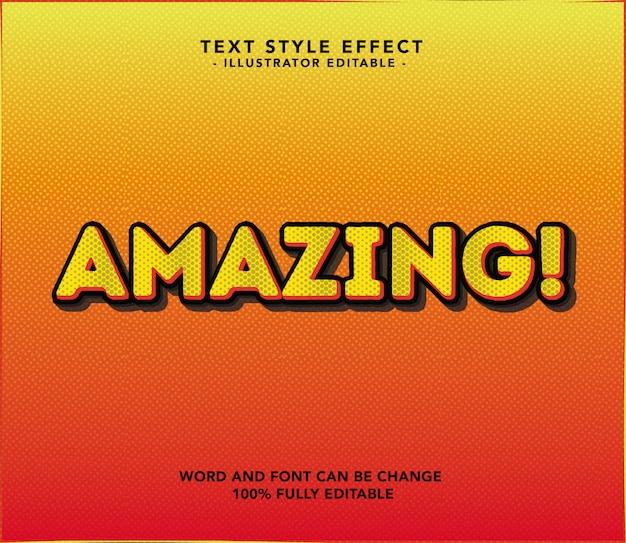 Amazing font