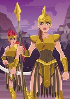 Amazon warrior army