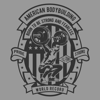 American body building