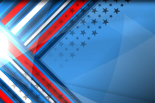 Ameryka tło dla dnia niepodległości