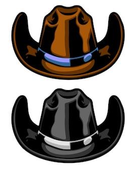 Amerykański kowbojski kapelusz