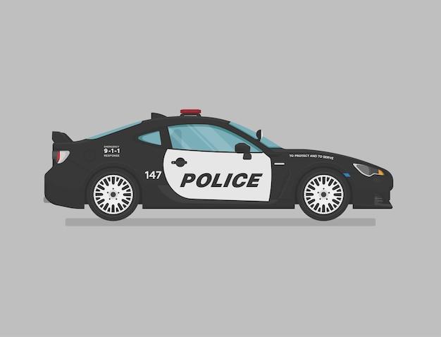Amerykański samochód policyjny
