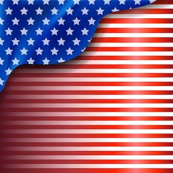 Amerykańskie tło