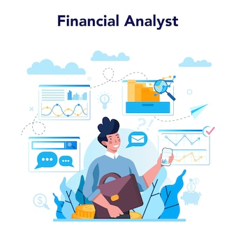 Analityk finansowy lub konsultant