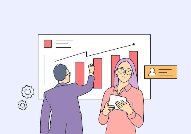 Analiza koncepcji partnerstwa biznesowego planowania statystyk