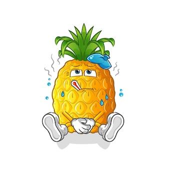 Ananas chory