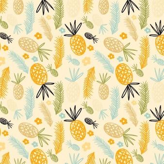 Ananas wzór