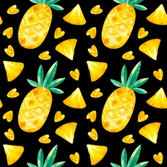 Ananasy rysunki wzór