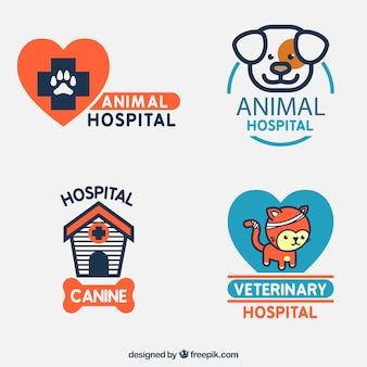 Animal logo szablony