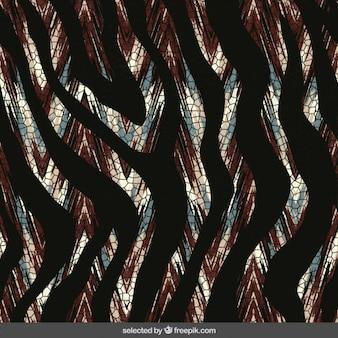 Animal print tło w stylu abstrakcyjna