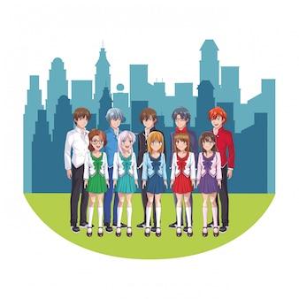 Anime manga group