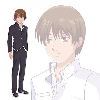 Anime manga mężczyzn