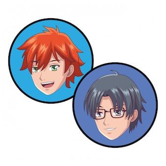 Anime manga młodych ludzi