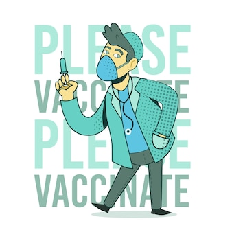 Animowana kampania szczepień