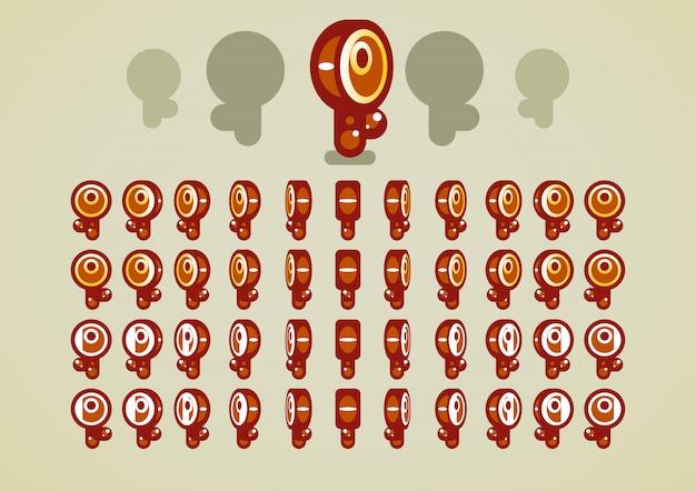 Animowane klucze z brązu