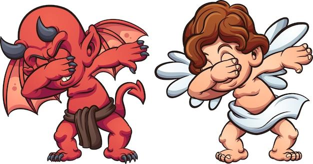 Anioł i diabeł