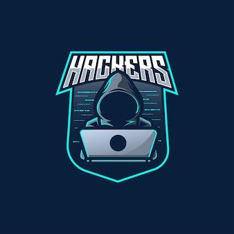 Anonimowe logo hakera