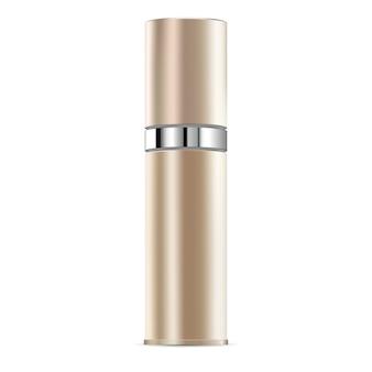 Antiaging niezbędne serum kosmetyczne makieta butelki