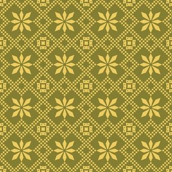 Antyczny wzór geometrii sprawdzić krzyż kwadratowy romb kwiat