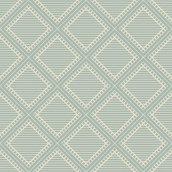 Antyczny wzór linii ramki kwadratowej bez szwu