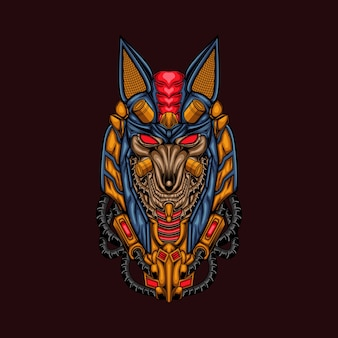 Anubis ilustracja art