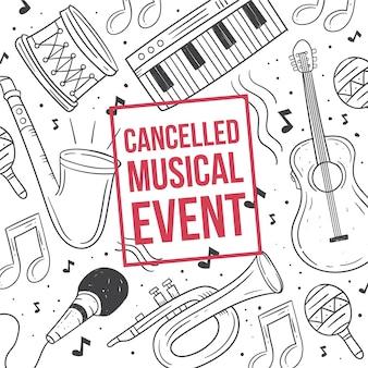 Anulowano wydarzenia muzyczne