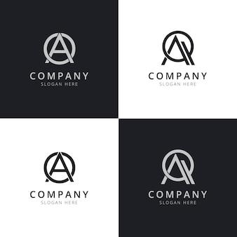 Ao aq list początkowe szablony logo