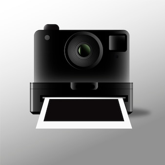 Aparat polaroid i zdjęcia