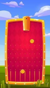 Aplikacja do gier mobilnych, interfejs aplikacji