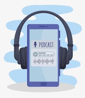 Aplikacja do podcastów w smartfonie