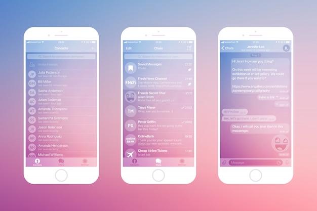 Aplikacja do przesyłania wiadomości