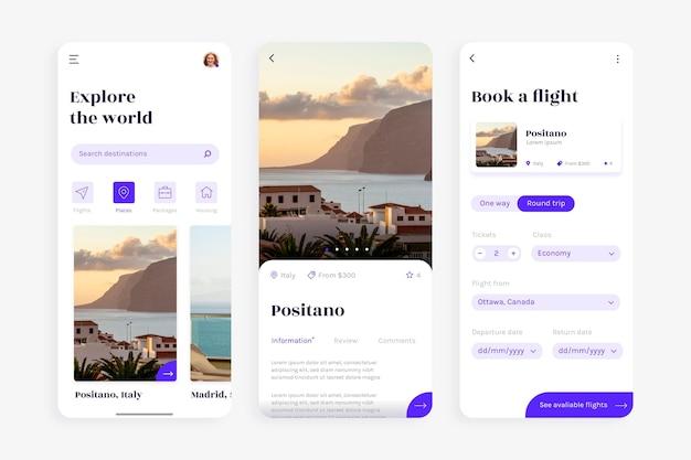Aplikacja do rezerwacji podróży