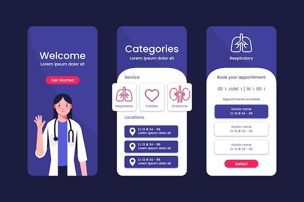 Aplikacja do rezerwacji wizyt lekarskich