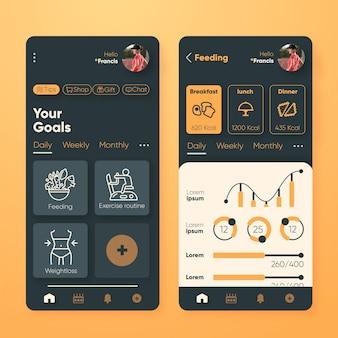 Aplikacja do śledzenia celów i nawyków