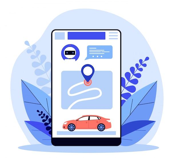 Aplikacja do udostępniania samochodu
