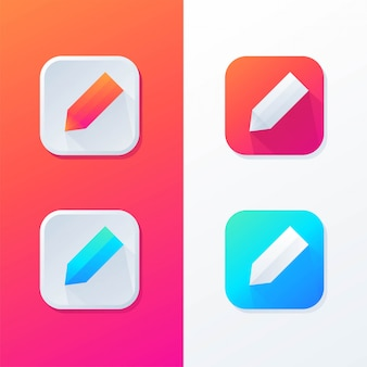 Aplikacja ikona ołówka