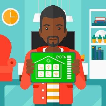 Aplikacja inteligentnego domu.