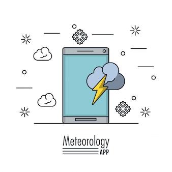 Aplikacja meteorologii pogody