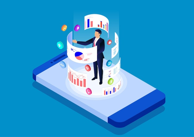 Aplikacja mobilna do analizy danych na smartfonie i narzędzia do zarządzania analizą danych