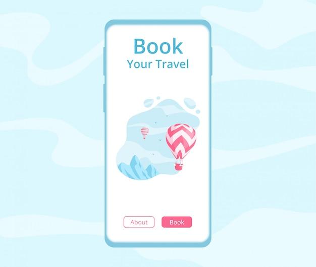 Aplikacja mobilna do rezerwacji podróży online