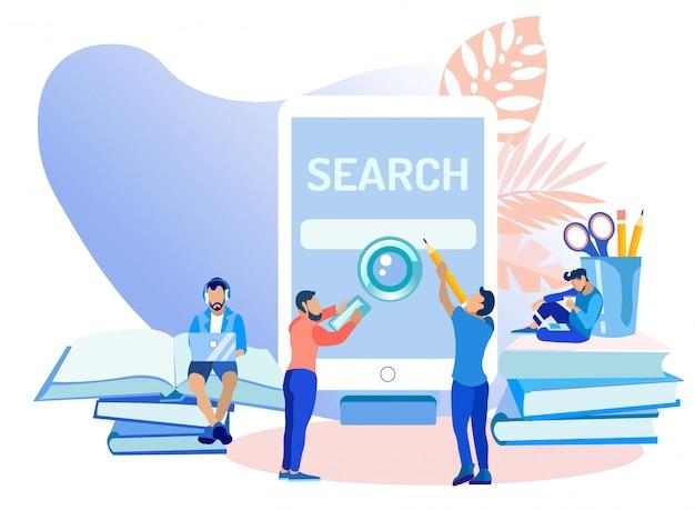 Aplikacja mobilna do wyszukiwania aplikacji mobilnych.