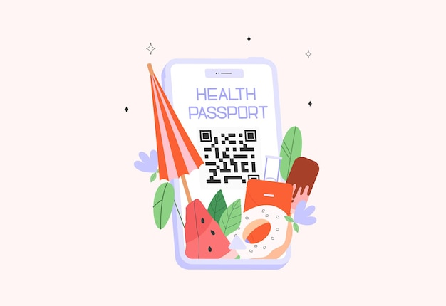 Aplikacja mobilna paszport zdrowia lub paszport szczepień covid19