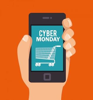 Aplikacja na smartfony cyber poniedziałek