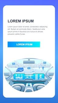 Aplikacja smart car phone