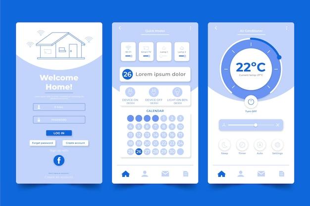 Aplikacja smart home