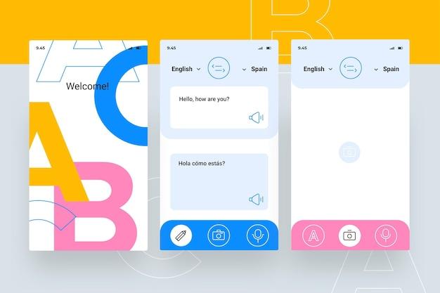 Aplikacja tłumacza