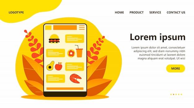 Aplikacja zamówienia żywności
