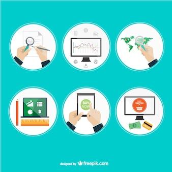 Appliations projektowania online internet