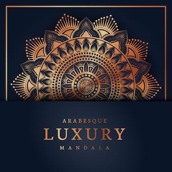 Arabeskowa luksusowa mandala