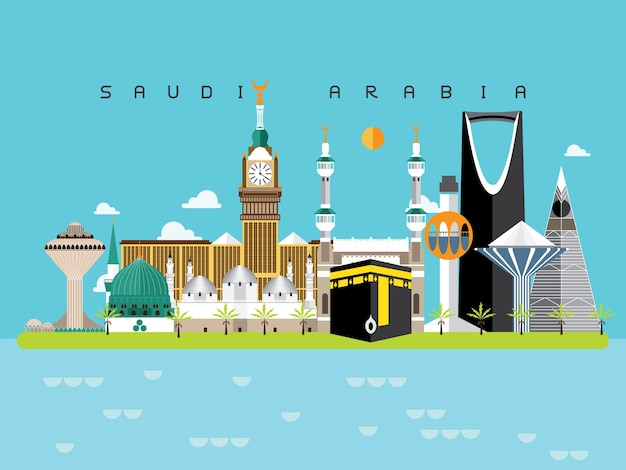 Arabia saudyjska słynne zabytki